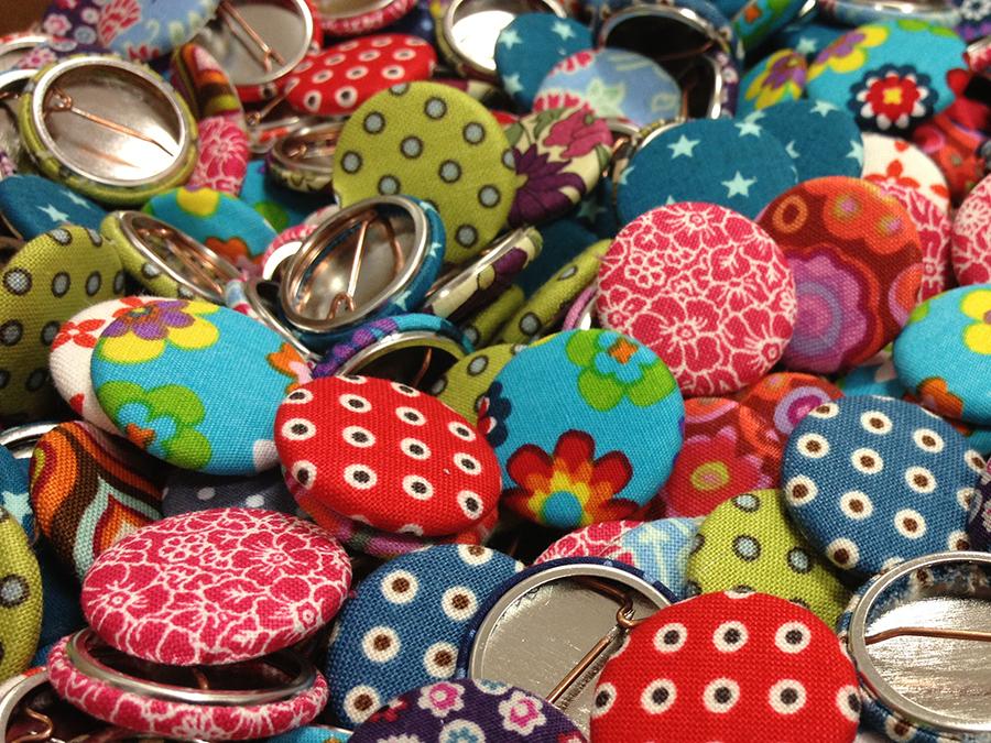 Badges en tissu - Eva Arlettaz
