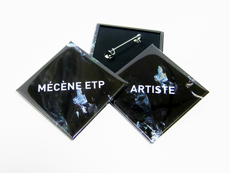Badges Mecene ETP Modern City