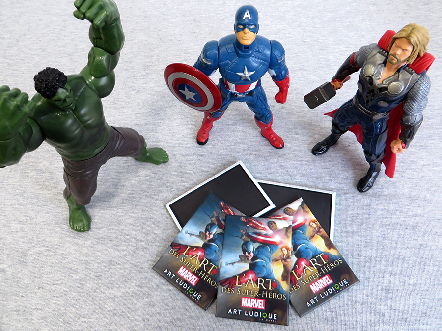 Badges Art Ludique Marvel