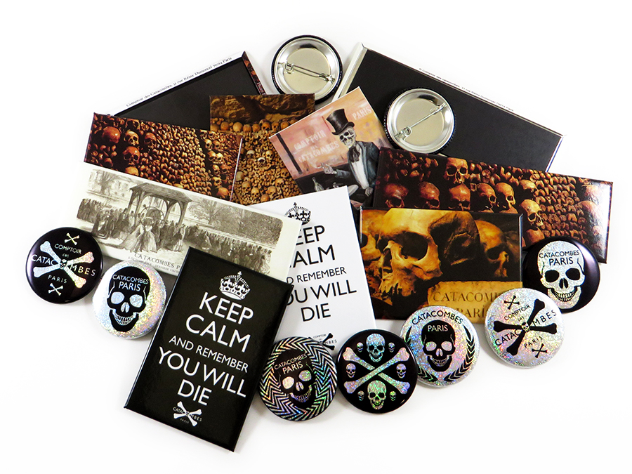 Badges Comptoir Catacombes Paris