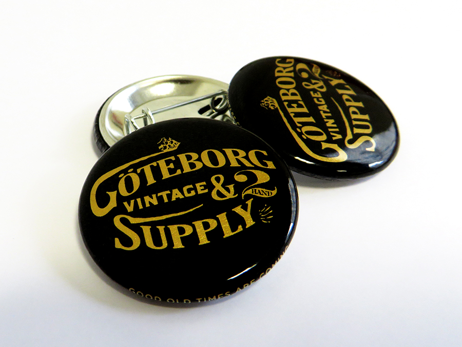 Badges Goteborg Vintage
