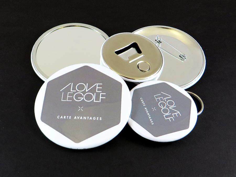 Badges ILoveLeGolf