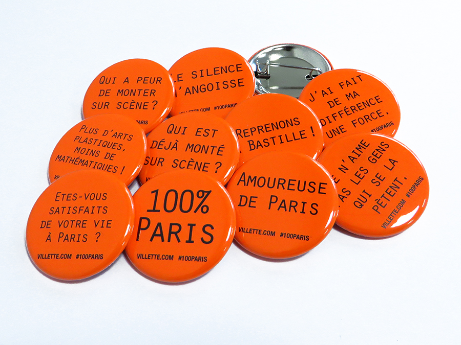 Badges La Villette