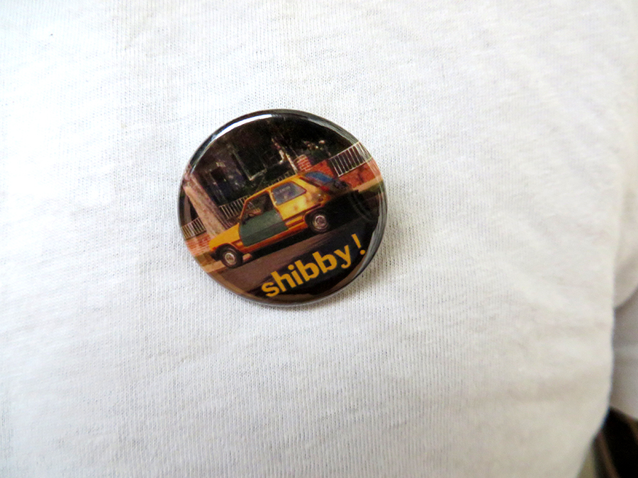 Benjamin Modern City badge Shibby