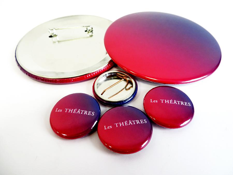 Badges Les Théâtres