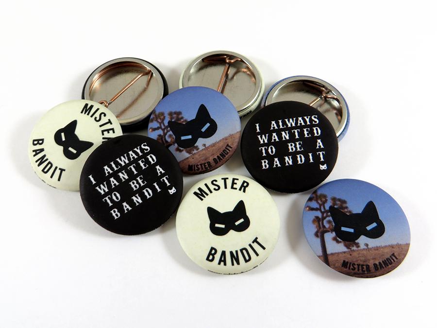 Badges Mister Bandit