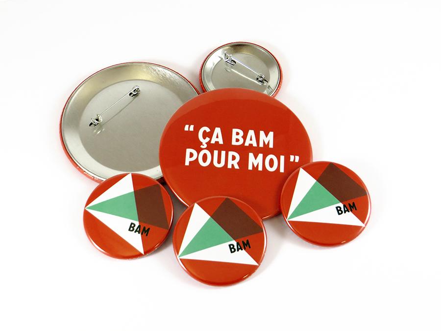 Badges La BAM Metz
