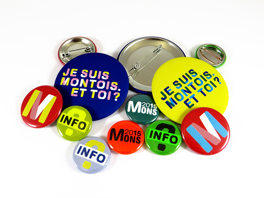 Badges Mons 2015