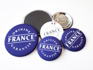 Badges et magnets Origine France Garantie