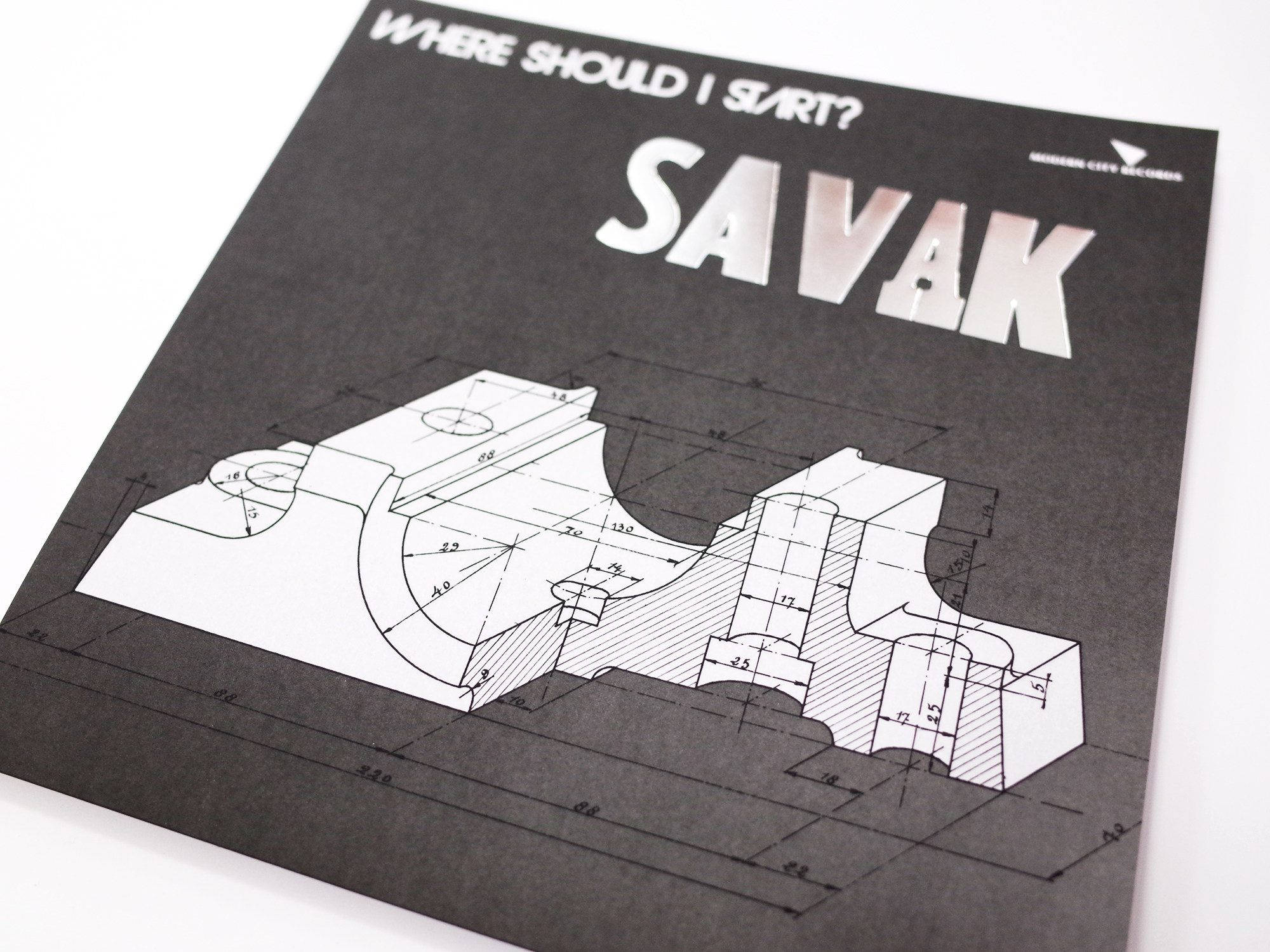 SAVAK - 45 tours - Where Should I Start