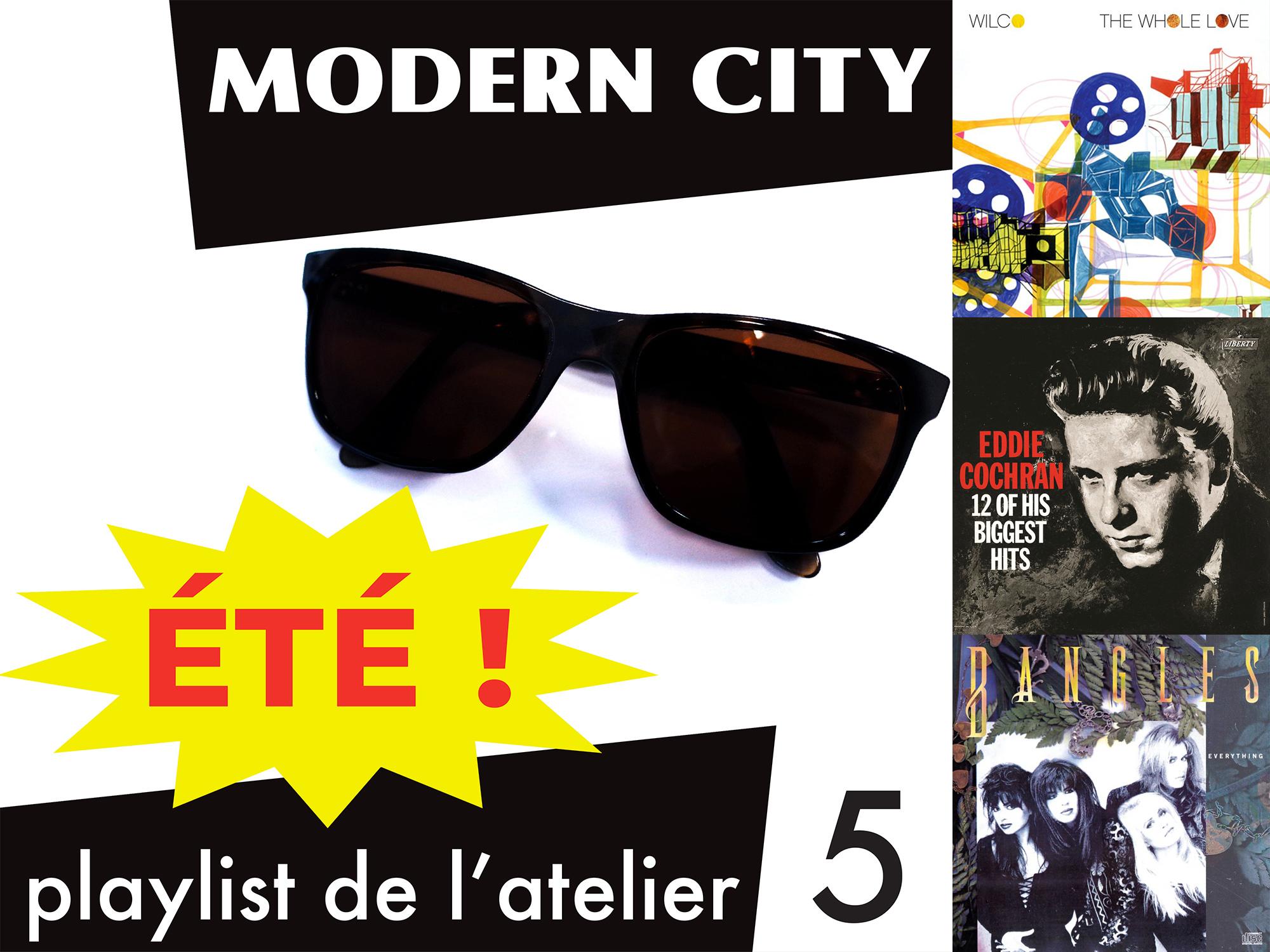 Modern City - Playlist des vacances d'été