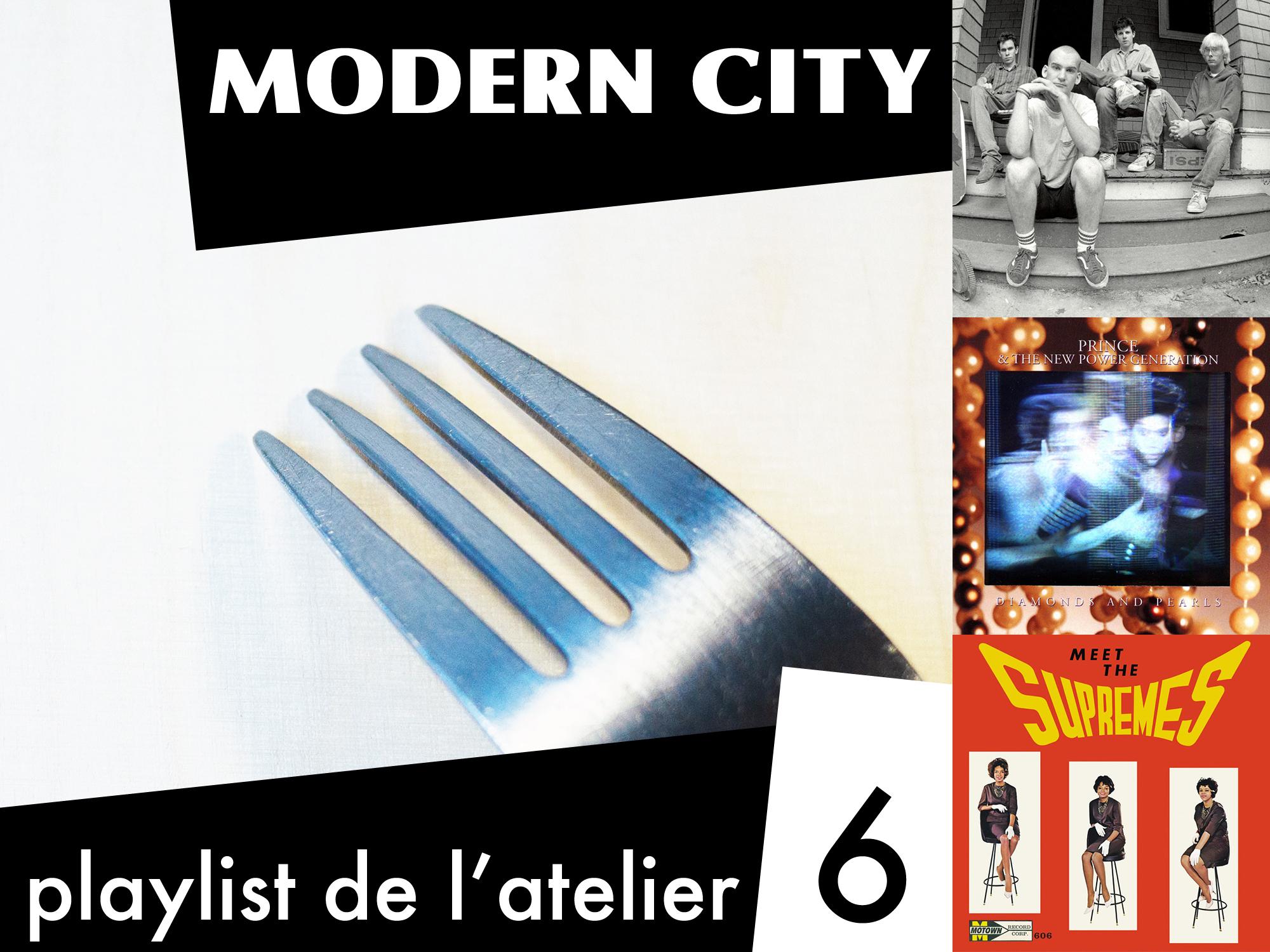 Playlist de l'atelier n°6