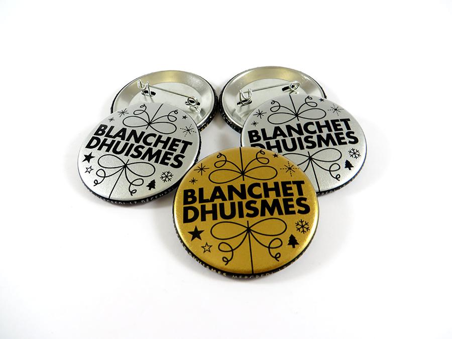 Badges Blanchet Dhuismes