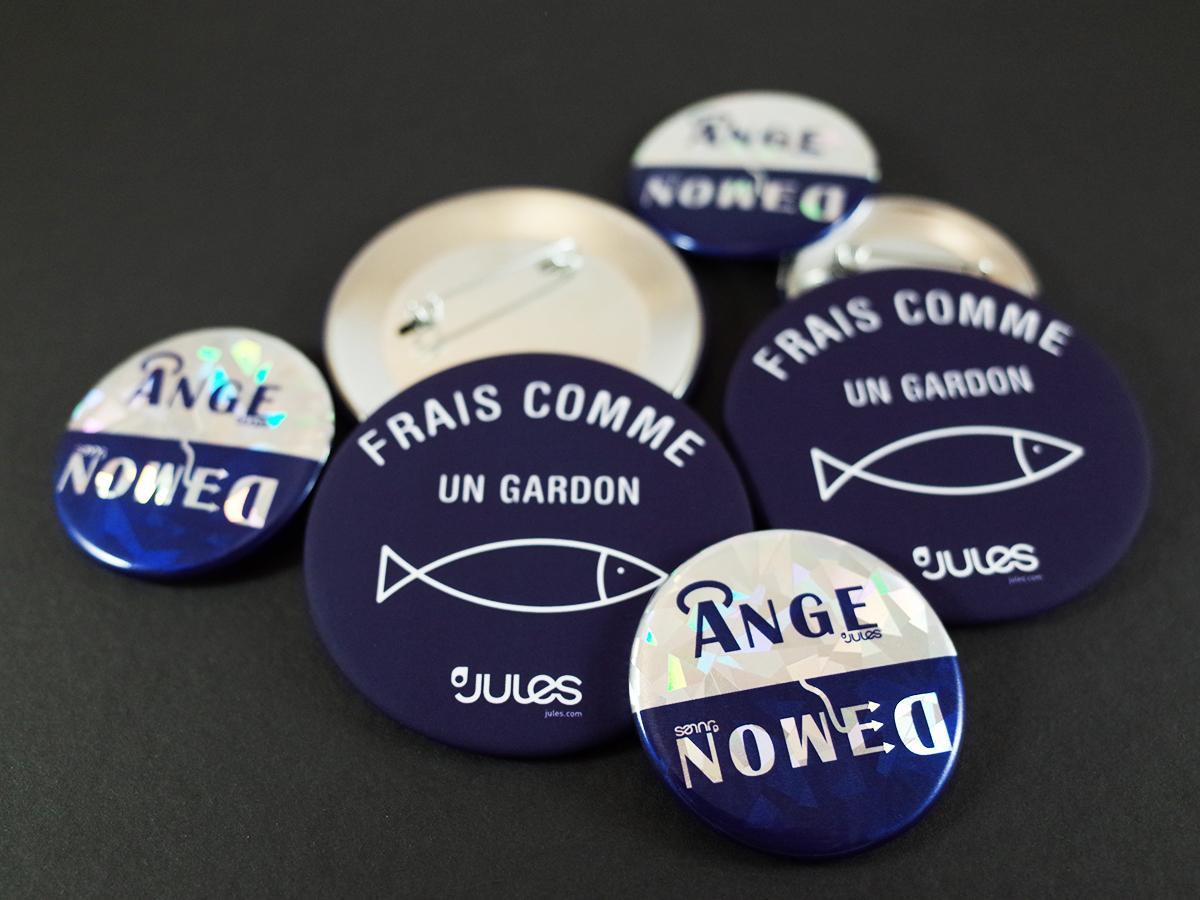 Modern City badges Jules